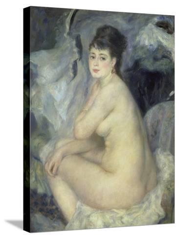 Weiblicher Akt (Anna), 1876-Pierre-Auguste Renoir-Stretched Canvas Print