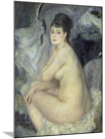 Weiblicher Akt (Anna), 1876-Pierre-Auguste Renoir-Mounted Giclee Print