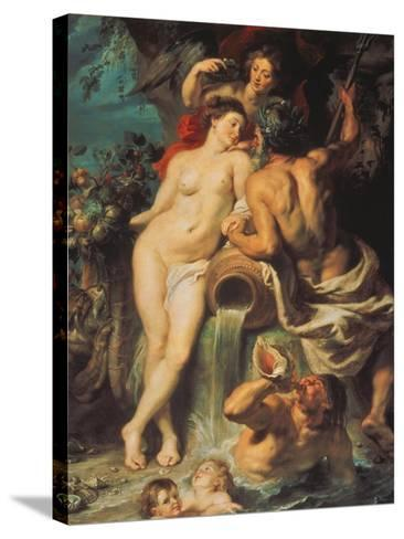 The Union of Earth and Water, about 1618-Peter Paul Rubens-Stretched Canvas Print