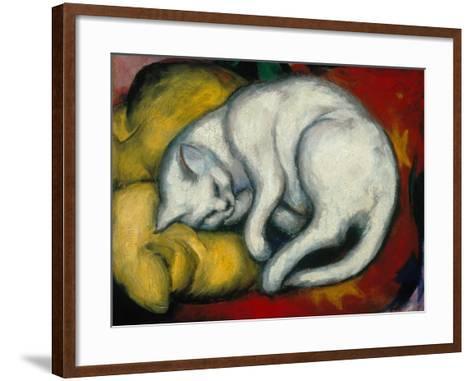 The White Cat, 1912-Franz Marc-Framed Art Print