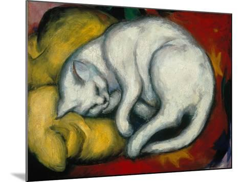 The White Cat, 1912-Franz Marc-Mounted Giclee Print