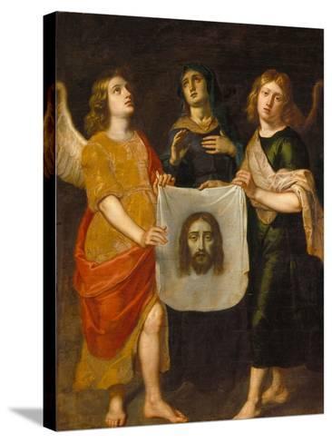 St. Veronica-Gaspard de Crayer-Stretched Canvas Print