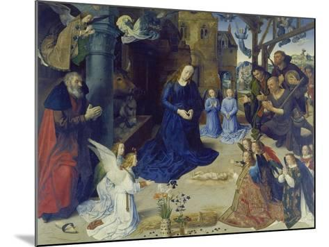 The Portinari Altarpiece. Central Panel: the Adoration of the Shepherds-Hugo van der Goes-Mounted Giclee Print