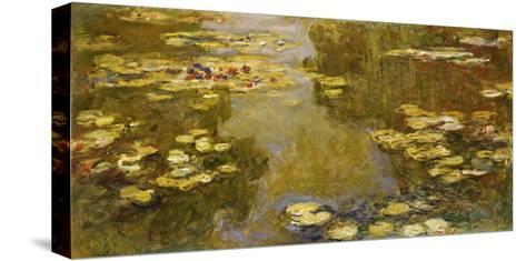 The Lily Pond, 1913-Claude Monet-Stretched Canvas Print