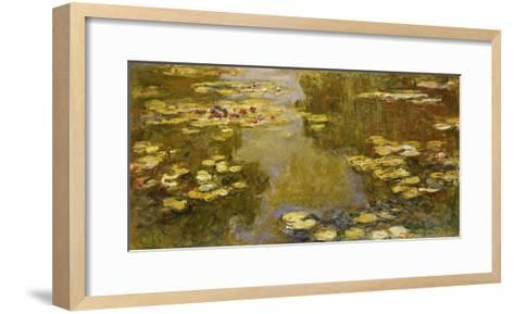 The Lily Pond, 1913-Claude Monet-Framed Art Print