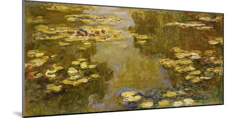 The Lily Pond, 1913-Claude Monet-Mounted Giclee Print