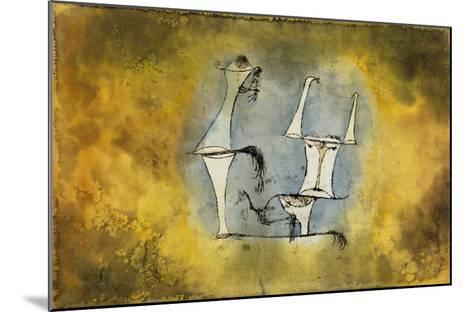 Ur-Welt-Paar, 1921 /135-Paul Klee-Mounted Giclee Print