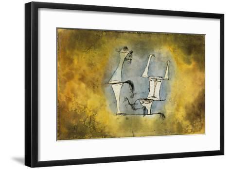 Ur-Welt-Paar, 1921 /135-Paul Klee-Framed Art Print