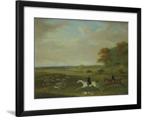 Coursing, 1813-John Nost Sartorius-Framed Art Print