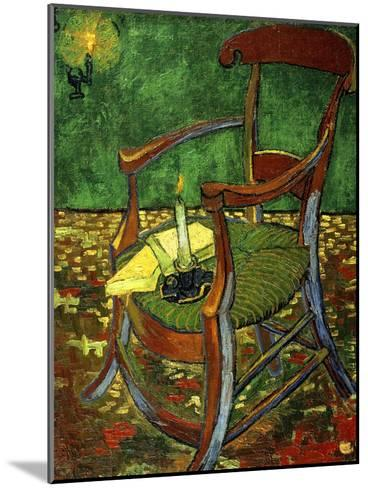 Gauguin's Chair (With Candle), 1888-Vincent van Gogh-Mounted Giclee Print
