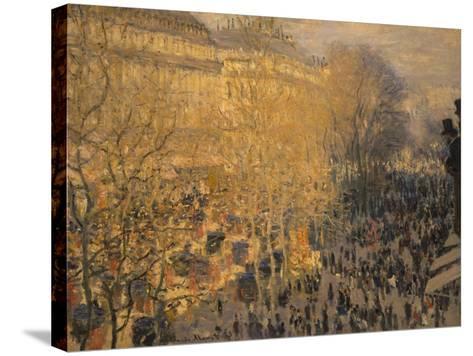 Boulevard Des Capucines, 1873-Claude Monet-Stretched Canvas Print