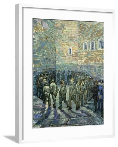 The Exercise Yard, 1890-Vincent van Gogh-Framed Art Print