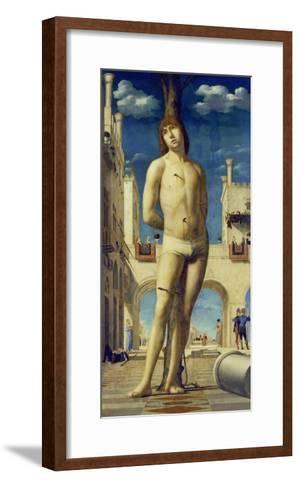 St. Sebastian, about 1475/76-Antonello da Messina-Framed Art Print