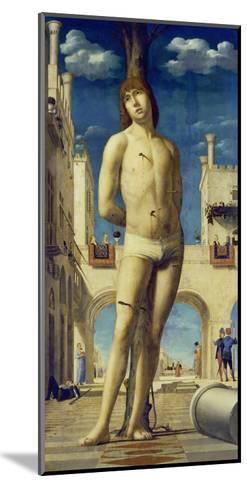 St. Sebastian, about 1475/76-Antonello da Messina-Mounted Giclee Print
