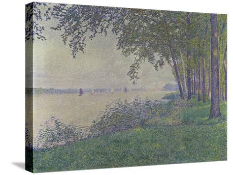 The Sailing Boats, 1892-Theo van Rysselberghe-Stretched Canvas Print