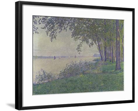 The Sailing Boats, 1892-Theo van Rysselberghe-Framed Art Print