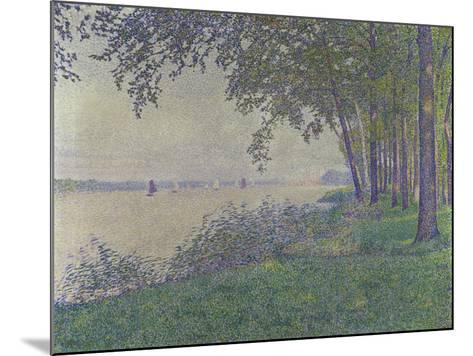 The Sailing Boats, 1892-Theo van Rysselberghe-Mounted Giclee Print