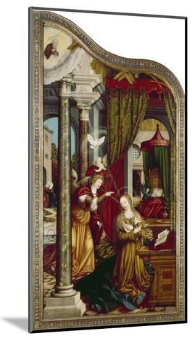 Wettenhausener Altar. Inner Left Panel: Annunciation, 1523-Martin Schaffner-Mounted Giclee Print
