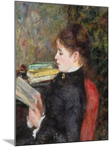 Woman Reading-Pierre-Auguste Renoir-Mounted Giclee Print