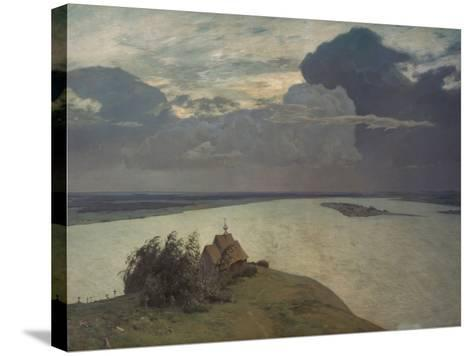 Above the Eternal Peace, 1894-Isaak Iljic Lewitan-Stretched Canvas Print