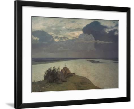Above the Eternal Peace, 1894-Isaak Iljic Lewitan-Framed Art Print