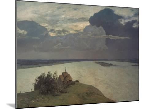 Above the Eternal Peace, 1894-Isaak Iljic Lewitan-Mounted Giclee Print