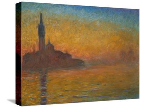 Venice by Twilight, 1908-Claude Monet-Stretched Canvas Print