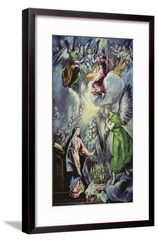 The Annunciation, about 1597/1600-El Greco-Framed Art Print