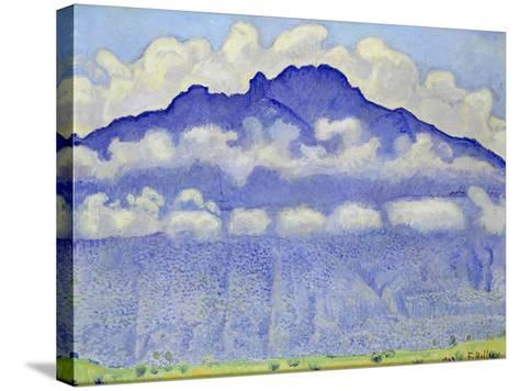 The Schynige Platte, Bernese Oberland, 1909-Ferdinand Hodler-Stretched Canvas Print