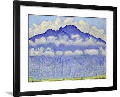 The Schynige Platte, Bernese Oberland, 1909-Ferdinand Hodler-Framed Art Print