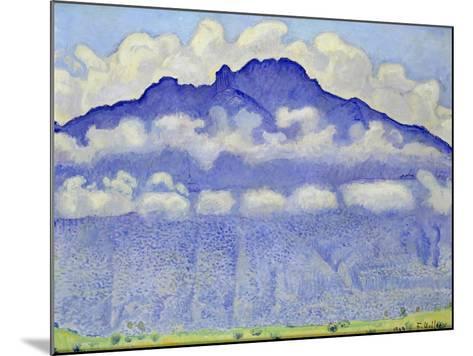 The Schynige Platte, Bernese Oberland, 1909-Ferdinand Hodler-Mounted Giclee Print