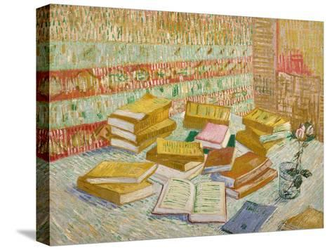 The Yellow Books-Vincent van Gogh-Stretched Canvas Print