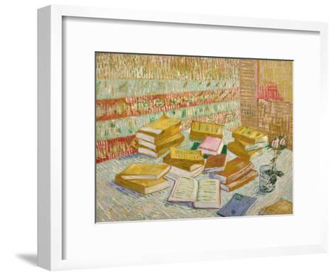 The Yellow Books-Vincent van Gogh-Framed Art Print
