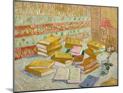 The Yellow Books-Vincent van Gogh-Mounted Giclee Print