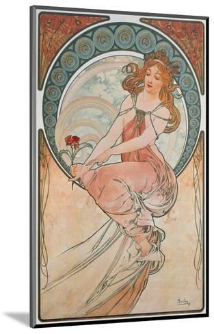 The Arts: Painting, 1898-Alphonse Mucha-Mounted Giclee Print