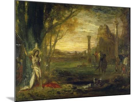 The Martyrdom of Saint Sebastian-Gustave Moreau-Mounted Giclee Print