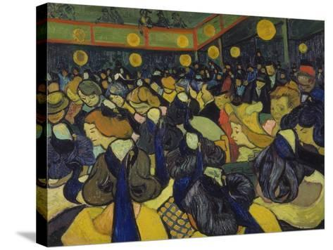 The Dance Hall at Arles, 1888-Vincent van Gogh-Stretched Canvas Print