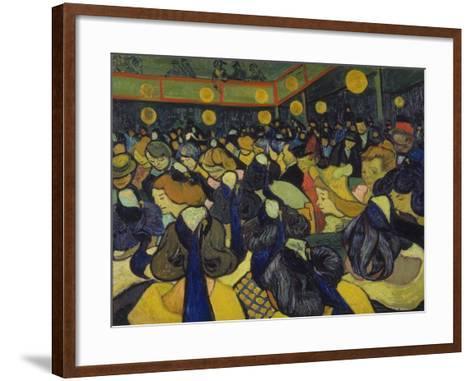 The Dance Hall at Arles, 1888-Vincent van Gogh-Framed Art Print