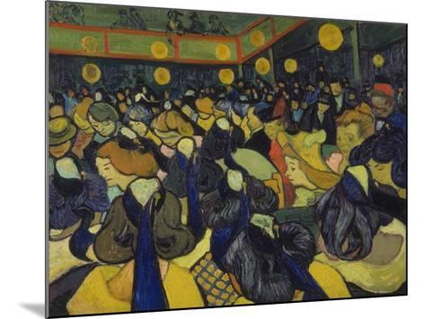 The Dance Hall at Arles, 1888-Vincent van Gogh-Mounted Giclee Print