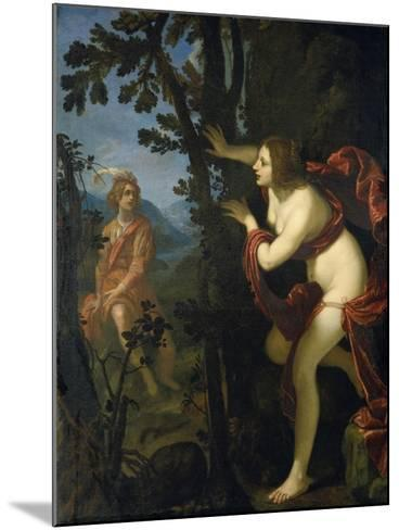 Narcissus and Echo-Giovanni Biliverti-Mounted Giclee Print