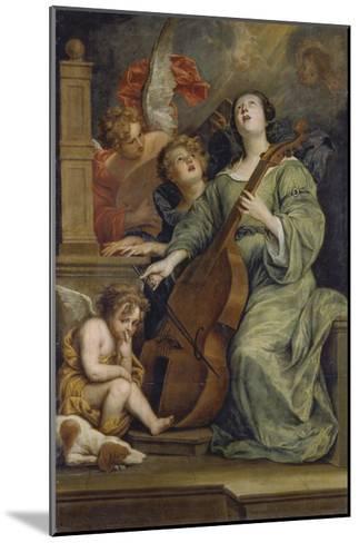 Saint Cecilia-Thomas Willeboirts-Mounted Giclee Print