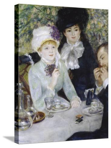 After the Luncheon (La Fin Du Déjeuner), 1879-Pierre-Auguste Renoir-Stretched Canvas Print