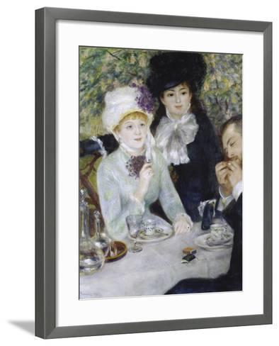 After the Luncheon (La Fin Du Déjeuner), 1879-Pierre-Auguste Renoir-Framed Art Print