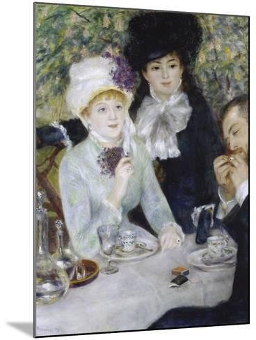 After the Luncheon (La Fin Du Déjeuner), 1879-Pierre-Auguste Renoir-Mounted Giclee Print