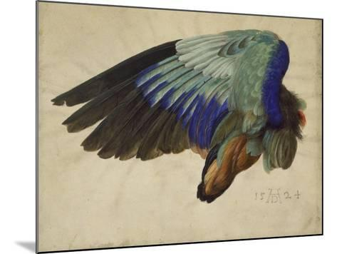 The Right Wing of a Blue Roller, 1524-Albrecht D?rer-Mounted Giclee Print