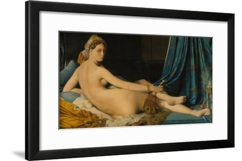 La Grande Odalisque, 1814-Jean-Auguste-Dominique Ingres-Framed Art Print