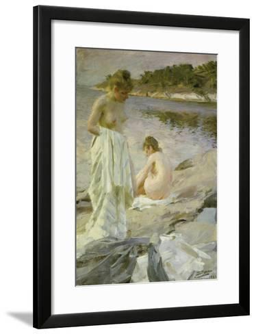 The Bathers, 1889-Anders Leonard Zorn-Framed Art Print