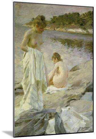 The Bathers, 1889-Anders Leonard Zorn-Mounted Giclee Print