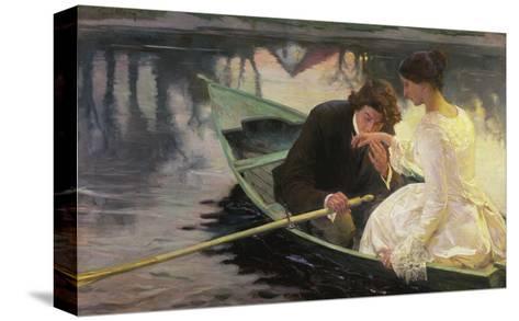 Traeumerei-Franz Guillery-Stretched Canvas Print