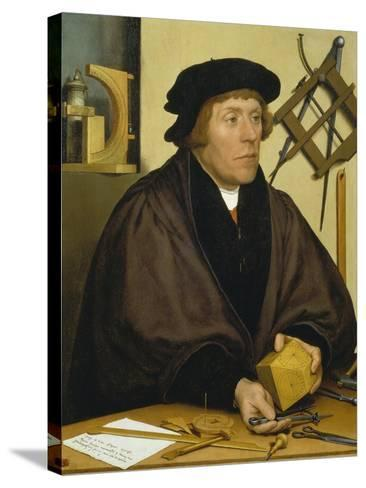 Portrait of Nikolaus Kratzer, 1528-Hans Holbein the Younger-Stretched Canvas Print